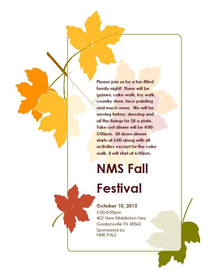 New Middleton School Fall Festival - Smith County Insider