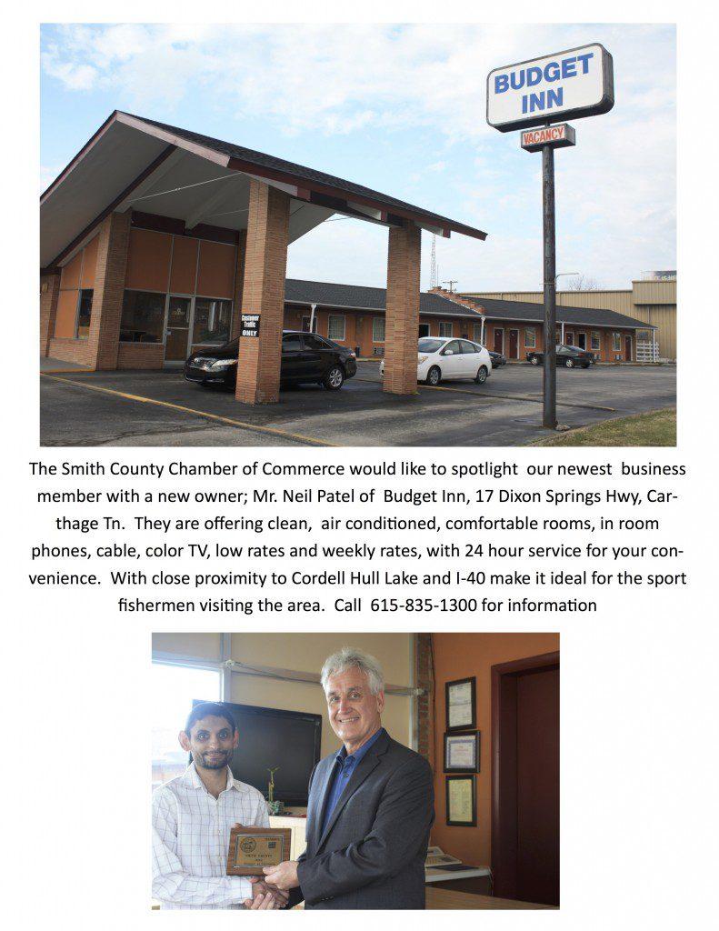 Dt Mccall Furniture New Chamber Member   Budget Inn   Smith County Insider