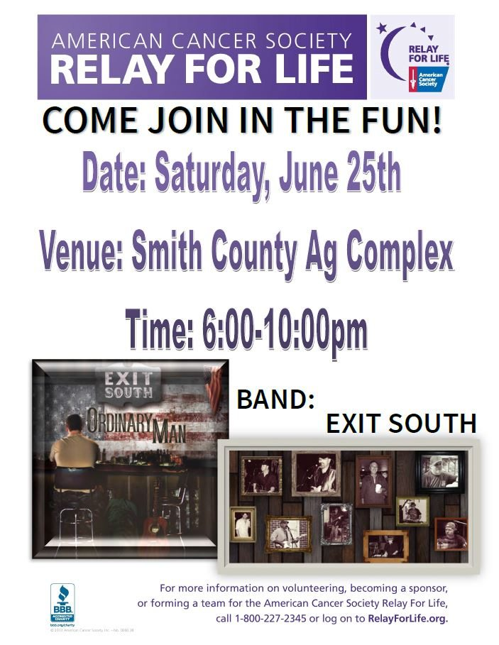 Relay for Life 2016 and Fish Fry | Smith County Insider