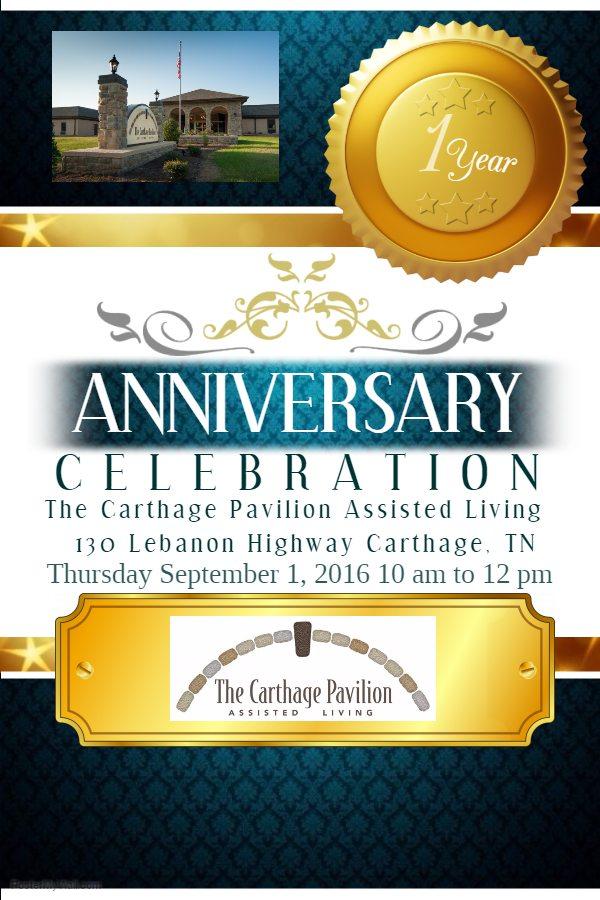 The Carthage Pavilion One Year Celebration Smith County