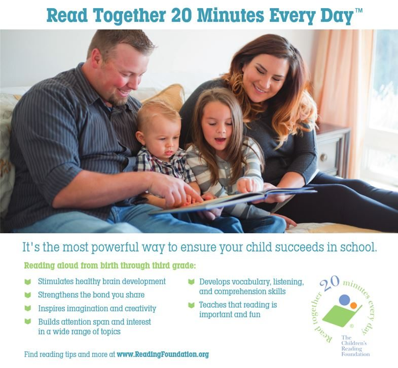 Read Together 20 Minutes Every Day Smith County Insider