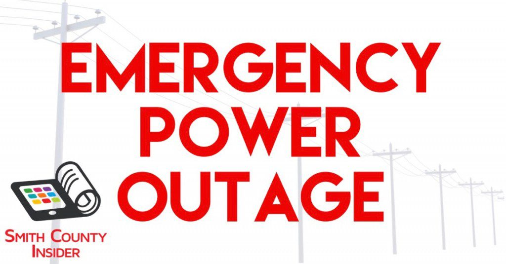 Emergency Power Outage For Smith County Smith County Insider