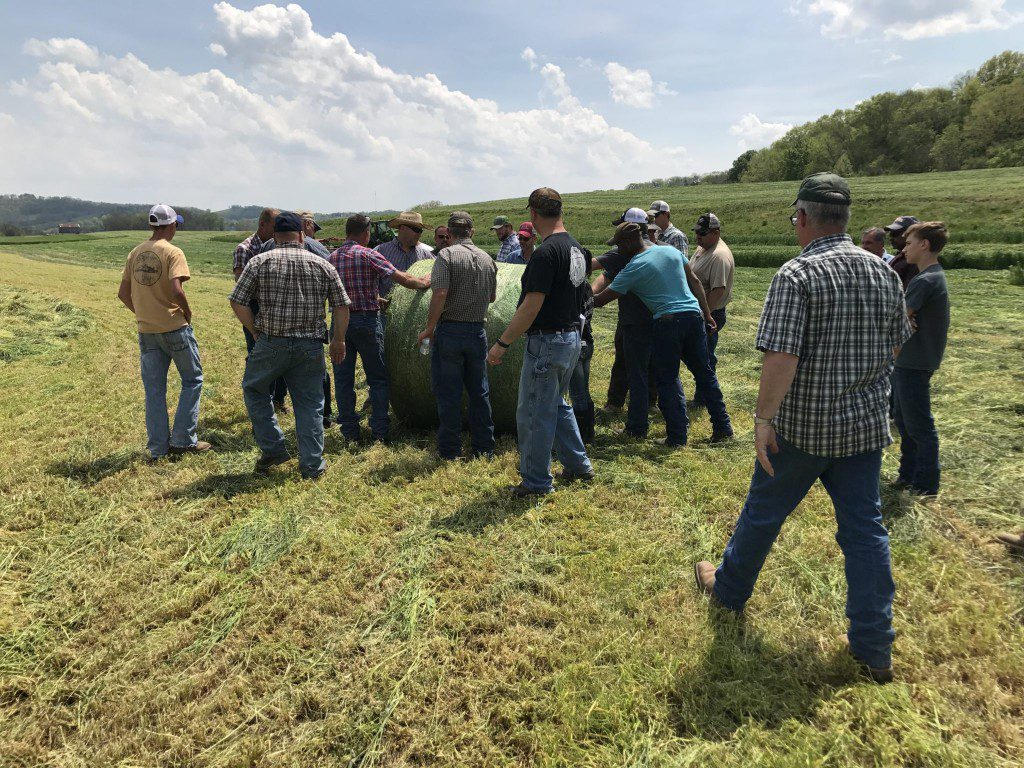 Over 70 Farmers Attend Haylage Field Day - Smith County Insider