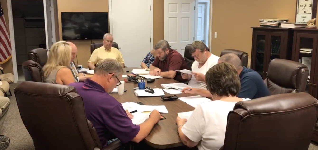 Special Called Meeting of the Gordonsville City Council ...