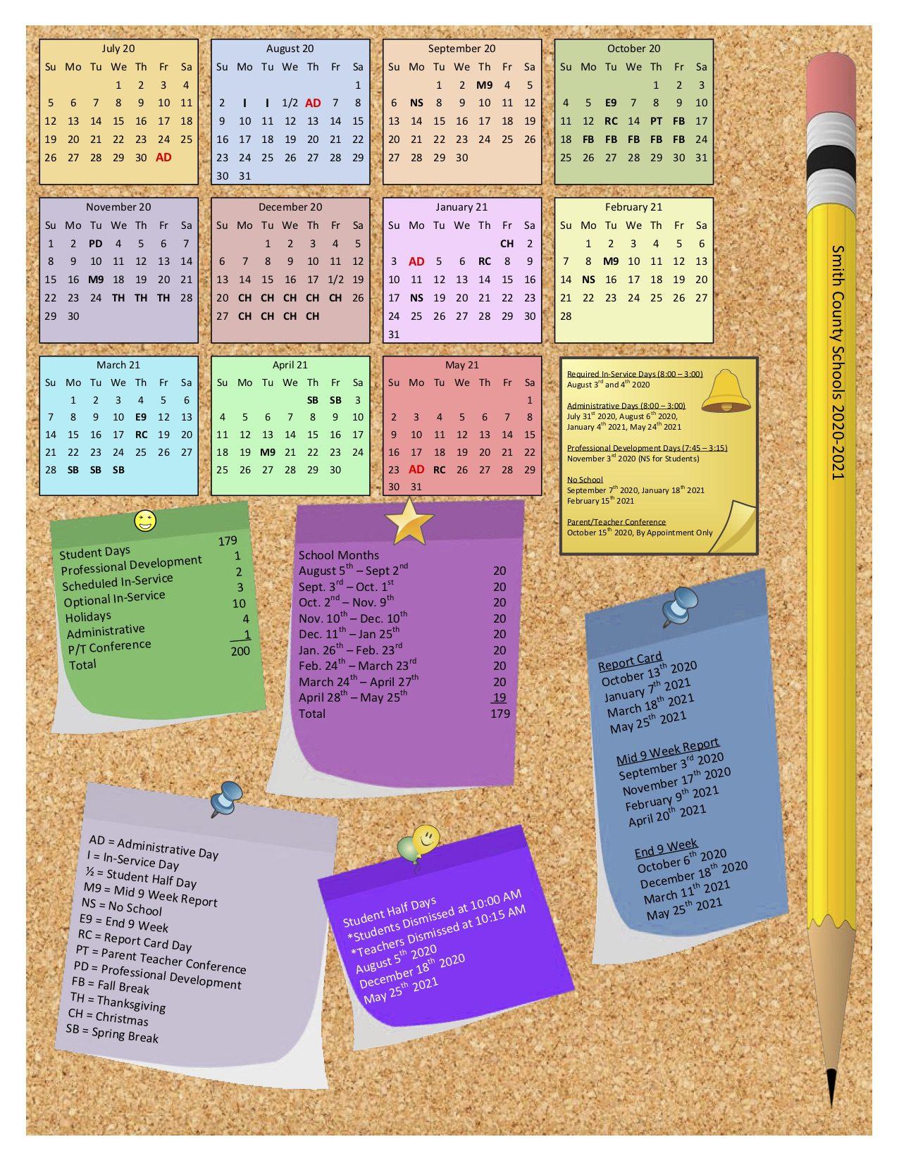 Smith County School Board approves 2020/2021 School Calendar