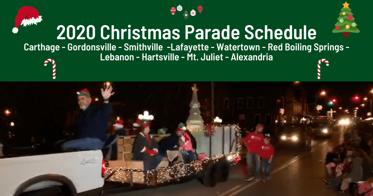 Statesville Christmas Parade 2021 Schedule Of 2020 Christmas Parades In Smith County And Surrounding Areas Smith County Insider